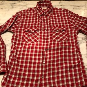 Old Navy men's small snap button shirt.